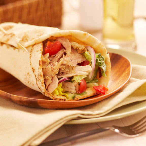 chicken-gyros-wrap